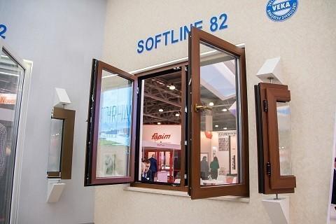 Энергоэффективное окно из профиля VEKA Softline 82
